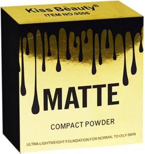 Kiss Beauty Matte Compact Powder 20g pack Compact