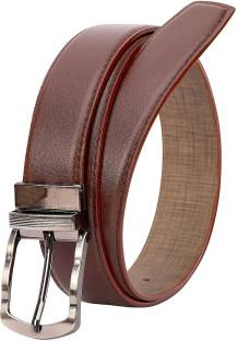 5cafeeb13 Wildantler Men Brown Artificial Leather Belt