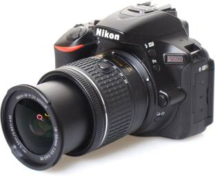 Nikon DSLR D5600 DSLR Camera with AF P DX Nikkor 18 55 mm f/3.5 5.6 VR with and 16 GB Memory Card and Loweoro BP150 Bag Free