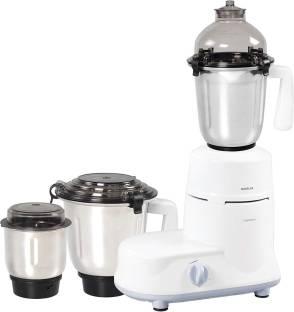 HAVELLS 206 Marathon 750-Watt Mixer Grinder (White) 750 Juicer Mixer Grinder (3 Jars, White)