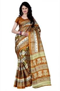 2efabce6e0 Upto 80% OFF On Wama Fashion Printed Daily Wear Silk Sarees at Lowest Price  at SasteSaude