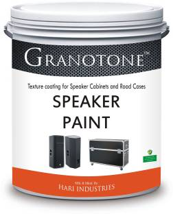 baa95ee50f7 Granotone Roller Grade Speaker Cabinet Texture Coating BLACK Functional  Wall Paint