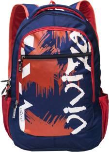 8be95f2343 Viviza Highly Durable Polyester 26 Ltrs Navy Blue Laptop Backpack  Waterproof Shoulder Bag