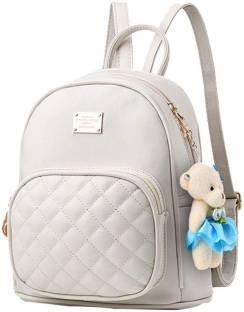 42a3c1c1614f New Eva cream teddy Backpack