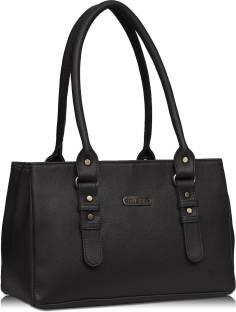 Fristo Women Black Shoulder Bag