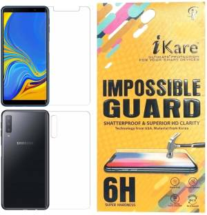 iKare Front and Back Screen Guard for Samsung Galaxy A7 2018 Edition