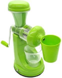 Tom & Gee J 01 Fruit And Vegetable Mixer Hand Juicer 0 Juicer (1 Jar, Green)