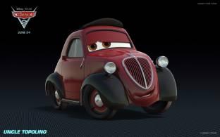 Movie Cars 2 Cars Fiat Disney Pixar Car Hd Wallpaper Background