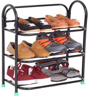 Raj Sturdy SmartBuy 3 Shelfs Metal Shoe Stand