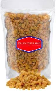 SFT Raisins Golden Organic (Kishmish) Seedless, Dry Grapes Raisins
