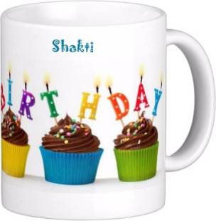Exocticaa Happy Birth Day SHAKTI_New HBD 005 Ceramic Coffee Mug