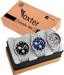 Foxter 428 429 438 New Best Artist Designer Combo Watch For Men Women