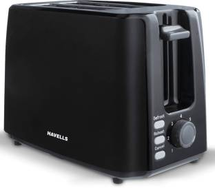 HAVELLS Crisp Plus 2 Slice 750 W Pop Up Toaster