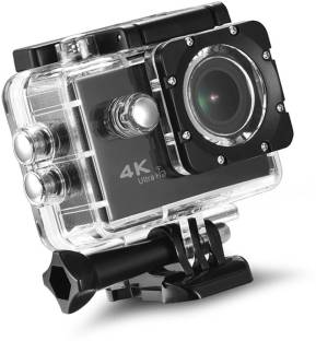 LIZZIE 4K Sports Action Camera Ultra HD Waterproof DV Camcorder 16MP 170 Degree Wide Angle Sports and ...