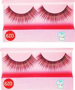 649cf86fe78 sweetpea False EyelashesHuman Hair Handmade Eye Lashes Thin Thick Various  Options pack of 2