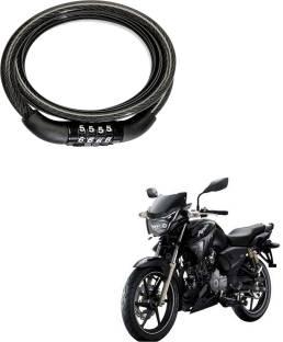 Mobidezire Brass Combination Lock For Helmet