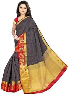 ac492fcb8a Buy Meghdoot Woven Fashion Tussar Silk Red Sarees Online @ Best ...