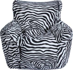 timber cheese XXL Chair Bean Bag Cover  Without Beans  Black