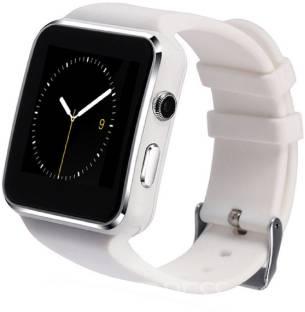 KUKSHYA X6 White Bluetooth SIM Memory Card Smartwatch