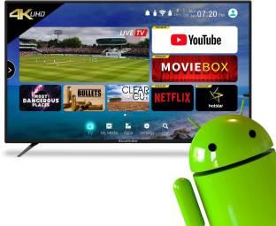 CloudWalker 109cm  43 inch  Ultra HD  4K  LED Smart TV