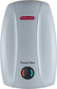 Racold 3 L Instant Water Geyser (pronto neo ss 3v-3kw, White)