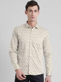 023dea1784de jimmy and jordan Men s Printed Casual Brown Shirt - Buy Brown jimmy ...