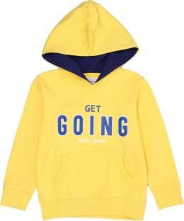 faad8a39b FC Barcelona Full Sleeve Printed Boys Sweatshirt - Buy YELLOW FC ...
