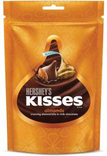 HERSHEY'S Kisses Crunchy Almond Bits in Milk Chocolate Truffles
