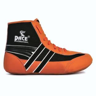 9a372204 Asics Matflex Wrestling Shoes for Men - Black/Silver - 9 US ...