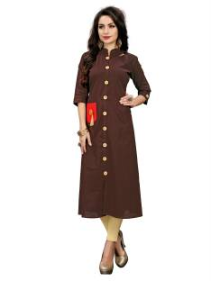 c226487bbc Anuswara Casual Abstract Women Kurti - Buy Anuswara Casual Abstract ...