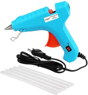 Flipkart SmartBuy Electric 40W Turquoise Hot Melt Glue Gun With 5 Pcs Hot Melt Glue Stick