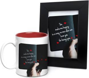 Hot Muggs Mug Photoframe Gift Set