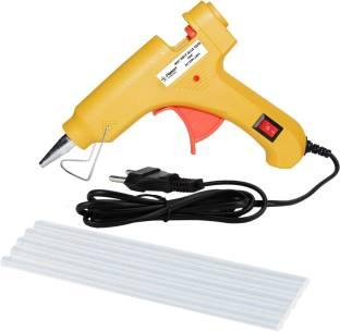 fa1b464199df17 Flipkart SmartBuy Electric 20W Yellow Mini Hot Melt Glue Gun With 5 Pcs Hot  Melt Glue