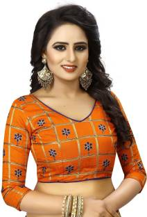 4855e4f5cf17f DHANVARSHA FASHION Silk Solid Blouse Material Price in India - Buy ...