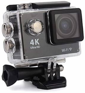 AKSHAR sport 4K WIFI Ultra HD Action Camera 30fps Video Photo 170 Degree Fish-Eye Lens Built-in for An...