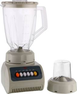 BMS Lifestyle The Wall Full Nutrition High Speed Blender Blender, Household Blender Food Processor with 1500 Milliliter Jar, 4 setting Functions and Variable Speed Control for Smoothies, Shakes and Frozen Drinks 350 Juicer Mixer Grinder (2 Jars, White)