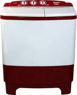 Daenyx 6.2 kg Semi Automatic Top Load Red, White