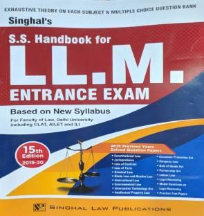 Singhal S.s. Handbook For Llm Entrance Exam 15th Edition