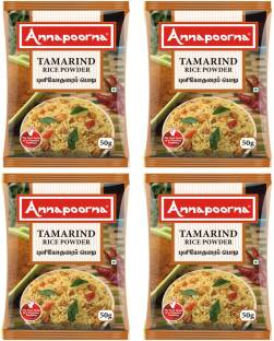 Annapoorna Tamarind Rice Powder 50 gms Pack of 4
