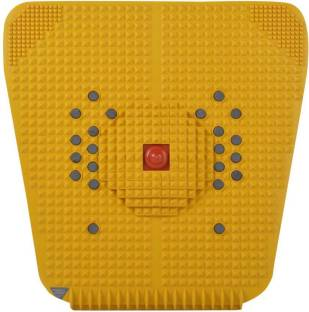 WOODPECKER PRINTS Acupressure Foot Massager For Pain Relief with Powerful Magnetic Pyramids Black 3 mm Accupressure Mat