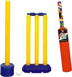 Friends India Kit Of Kashmir Willow Cricket Bat For Tennis