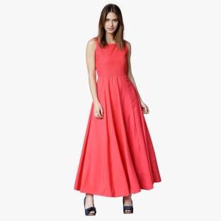dacadda00 Tokyo Talkies Women s Maxi Pink Dress - Buy LIGHT PINK Tokyo Talkies ...
