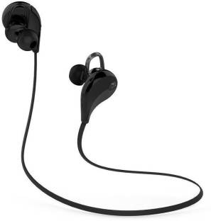 Furious3D jogger wireless headphone with Mic (Black, In the Ear) .