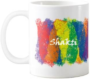 Exoctic Silver SHAKTI_Colorful holi new name 005 Ceramic Coffee Mug