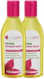 everteen Natural Intimate Wash (210 ml) Intimate Wash