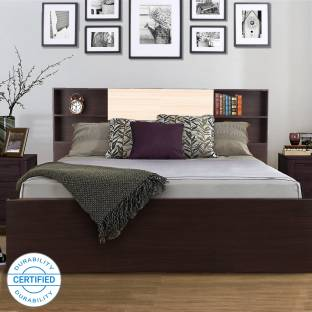 Hometown Engineered Wood King Box Bed
