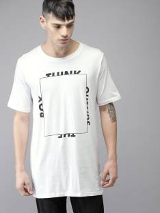 a071faba5 Moda Rapido Solid Men Round Neck White, Black T-Shirt - Buy Moda ...