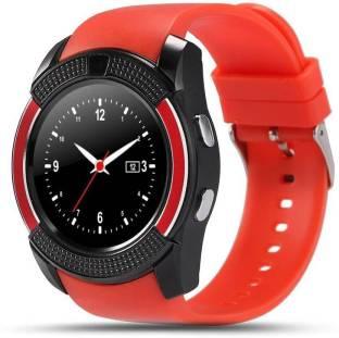 Celestech CSTV8 Health and Fitness Red Smartwatch Smartwatch