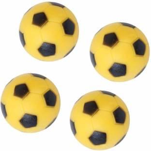 Myra Yellow Sponge Smiley Balls Pack Of 36 5 Cm Yellow