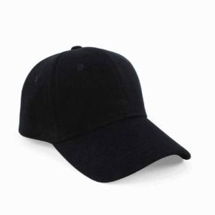 49c5f0f4b6c ILU Solid caps white faux leather Cap - Buy Black ILU Solid caps ...